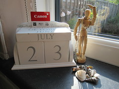 Saturday, 23rd, Time for action IMG_3117 (tomylees) Tags: calendar perpetual essex morning summer canon powershot new july 2016 saturday 23rd