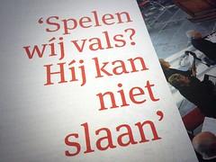 Volkskrant 2 (LettError) Tags: jacute typography character dutch language type typedesign typemedia
