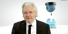 Wikileaks founder Julian Assange promises 'a lot more material' related to election will be leaked (contfeed) Tags: assange cnn sources wikileaks clinton russia linked hillary etcetera russians tuesday