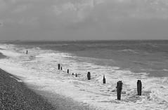 Rough Seas (Henry Hemming) Tags: rough waves sea coast dark groyne defences winchelsea east sussex