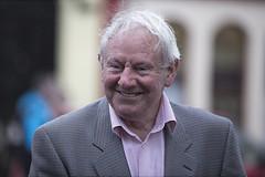 A great big smile (Frank Fullard) Tags: frankfullard fullard candid street portrait smile happy swinford mayo irish ireland older senior gentleman hair 2white