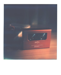 it's like being in a dream... (Walkman & Robin) Tags: polaroid  slr670m tip gtx970 color70 cassette dd2 impossible film
