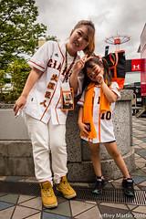 Yakkyu 039 (Dubai Jeffrey) Tags: baseball daugher fans giants jersey mother swallows tokyodome uniform yakkyu