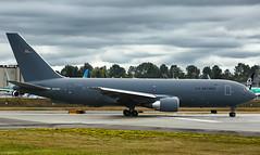 USAF Boeing KC-46A Pegasus at PAE (N842BA) (767-2LKC) (wilco737) Tags: kpae pae paine everett boeing field snohomish county airport aviation plane planes airplane airplanes spotting spotter planespotter planespotting pegasus boeing7672c kc46a tanker us air force boeing767 boeing762 boeing767200 b767 b762 b767200 767 762 767200 ln military wilco737 boeing7672lkc 41852 ln1091 1091 n842ba