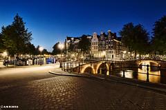 Amsterdam. (alamsterdam) Tags: amsterdam keizersgracht evening reflections