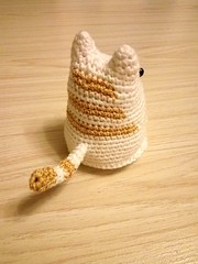Dumpling Cat (Foksik) Tags: dumpling cat crochet kitty toy kids children cotton