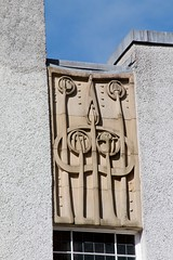 Detail of East wall (Raven Photographic) Tags: glasgow scotland bellahouston houseforanartlover mackintosh