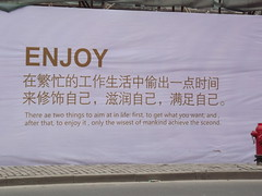 Enjoy (TREASURES OF WISDOM) Tags: china2015 enjoy wow whatisthis wonderful wisdom what yes unusual unknown intresting item oriental photosforflickr asian fantastic love look like chinese view visit brilliant nice magic mystery mystic sign poster advertising street