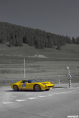 Bright SV (Iceman_Mark) Tags: lamborghini miura yellow design marcello gandini bertone 1972 1970s supercar summer passione engadina 2016 schanf stmoritz engadin graubnden switzerland alps