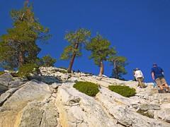 Don t Look Down (Lost in Flickrama) Tags: yosemite nationalpark hiking backpacking adventure johnmuirtrail wilderness granite rocks pinetrees california