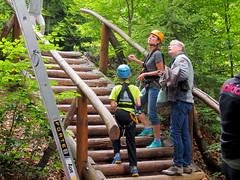 Spider park - Radomr Hovorka Na Trvnku. (topzdk) Tags: treeclimbing summer 2016 czechrepublic ski slope lanovy park