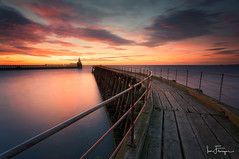 Blyth-Pier ( Ian Flanagan) Tags: blyth pier sunrise wood sea water