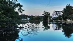 Calm (Lojones13) Tags: outdoor reflections water harbor newrochelle huntingtonharbor newyork sky calm serene reflection still