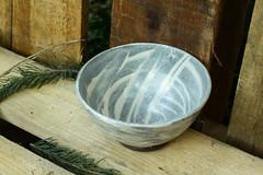 Stoneware Hakeme bowl (semi.ivan) Tags: hakeme pottery bowl ceramics stoneware