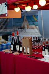 Wine (florian.glechner) Tags: wine wein italienischermarkt lichter tisch linz flaschen weinflaschen