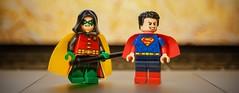 [DC Rebirth] Children of Legends (Jonathan Wong Photography) Tags: damian wayne robin dc rebirth super sons jonathan lane kent superman batman lego superheroes custom purist minifigures figbarf kids