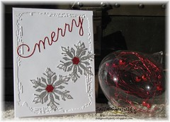 CAS Bauble (sally_sherfield) Tags: cas simon says christmas snowflakes