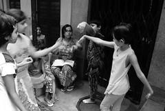 Life is a stage (Rajib Singha) Tags: travel street children portrait drama rehearsal lanes expression interestingness flickriver nikond200 bagbazar kolkata westbengal india