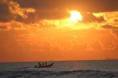 Sea (lovespraveen) Tags: sea sun sunrise boat fisherman morning water pleased shine light yellow ocean shore seaside beach coast