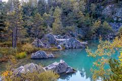 lac_bleu (Gabriel De Siam) Tags: hauteloire lauzire lac bleu auvergne blue lake france retournac nature autumn