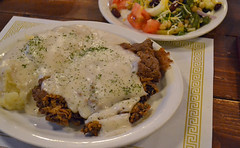 Chicken Fried Steak (TravelKS) Tags: kansas chanute giovannis nationalregisterofhistoricplaces martinandosajohnsonsafarimuseum ambassadorsteakhouse