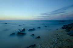 Brighton Beach (emmoff) Tags: longexposure sunset seascape australia melbourne wideangle 365 brightonbeach portphillipbay ndfilter nd400 365project tokina1116mm nikond7000