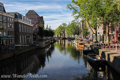 Amsterdam Canal (WanderTooth) Tags: amsterdam canal amsterdamcanal amsterdamtravel europeancanal europecanal amsterdamsights amsterdamlayover thingstoseeamsterdam