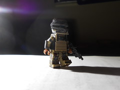 Chris Lewis: Hard Space repairman (Yappen All Day Long) Tags: 3 dead lego legs space helmet hard knights tiny hunter ideas engineer tactical brickarms brickforge eclipsegrafx