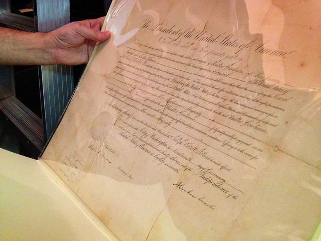 Presidential Appointment Signed by Abraham Lincoln