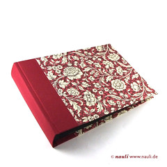 Photo Album Renaissance Flower red (nauli.nauli) Tags: flowers red floral photo handmade photobook blumen bookbinding photoalbum weddingalbum handgemacht fotoalbum madeingermany nauli reanissance handgebunden geblmt hochzeitsalbum handmadeingermany