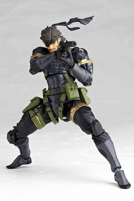 海洋堂Revoltech Metal Gear 輪轉可動 潛龍諜影 Snake