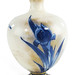 159. Cobalt Iris Decorated Vase by Doulton Burslem
