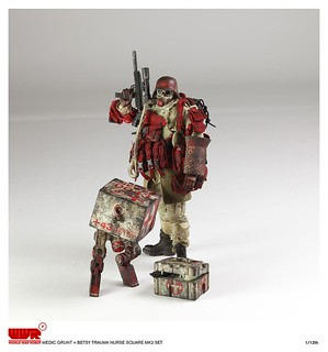 threeA - WWRp Medic Grunt and Betsy MK2 square set