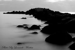 Long exposure (Leonardo Martini Viareggio) Tags: longexposure canon eos tramonto mare foto 7d paesaggio biancoenero lungaesposizione