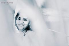 Those eye! ;) (fieryframes) Tags: bw india love girl face look composition eyes kerala potrait bnw potraiture karnatka