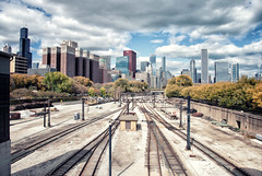 Grant Park Railroad Tracks (Richard Pilon) Tags: railroad chicago nikon grantpark railroadtracks