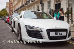 Audi R8 (Anthony Gentile Photos) Tags: street uk england streets london cars sports car canon eos mark rich engine super ironman exotic fancy anthony 5d expensive audi supercar gentile spotting mkii r8 carspotting 70200mmf28lis lambroghini canoneos5dmarkii 5dmarkii anthonygentilephotography