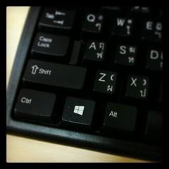 อยากได้คีย์บอร์ด #Windows8 จัง โลโก้สวย