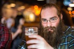 269. God It Looks Like Daniel (prenetic) Tags: seattle beer beard glasses washington daniel moustache danny bearded seattlewa seattlewashington vontrapps azoozoo