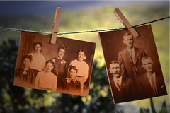 In the Old Days..... (fromky) Tags: family antique memories dressedup clothespins ourdailychallenge