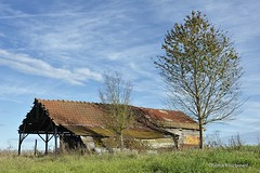 Vieille grange / Old barn (patoche21) Tags: france landscape 50mm countryside nikon scenery 21 burgundy agriculture paysage bourgogne campagne agricole ctedor d700 paysagerural capturenx2 patrickbouchenard cesseysurtille