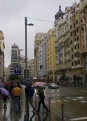 Madrid November 2012 (scatman otis) Tags: madrid rain architecture spain cities streetscenes madridspain