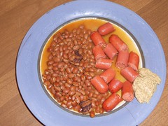 Franks & Beans (Mr. Ducke) Tags: beans horseradishmustard allbeeffranks