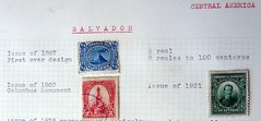 Salvador stamps