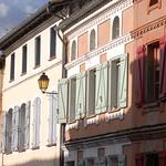 Façades colorées près de Toulouse thumbnail