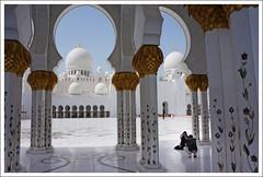 Shaikh Zayed Mosque : Abu Dhabi (Indianature22) Tags: architecture uae mosque abudhabi auh islamicarchitecture islamicart indianature sheikhzayedmosque sheikhzayedgrandmosque abudhabistajmahal uaetajmahal sheikhzayedgrandmosqueabudhabi