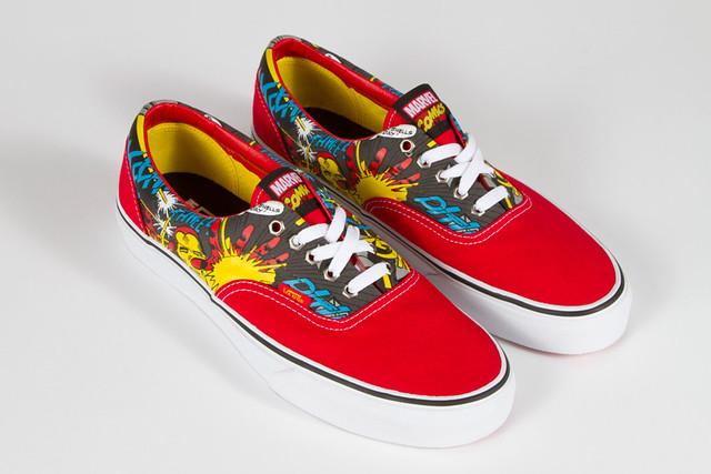 Marvel x Vans 收集鞋款