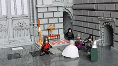 Be careful what you wish for.. (peggyjdb) Tags: england history architecture lego cathedral canterbury knights knight martyr canterburycathedral thomasbecket kinghenryii