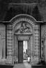 Big door (Michel Couprie) Tags: door blackandwhite bw france castle monochrome canon eos gate nb 7d porte château yvelines larocheguyon ef10028lmacro