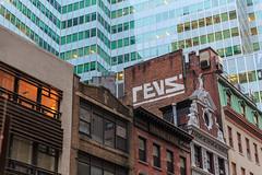 Revs (Strykapose) Tags: nyc rooftop graffiti manhattan revs manhattanskyline lowermanhattan nationalhistoriclandmark glasspanes canon5d3 strykapose ef2470mmf28liiusm